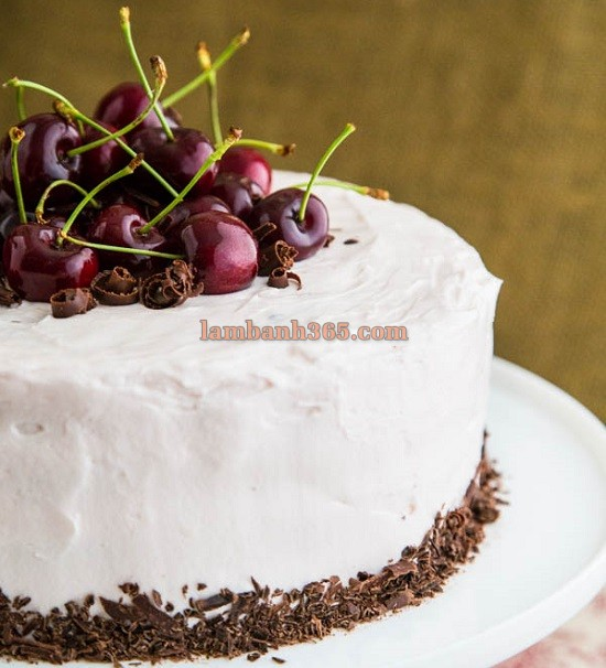 cach_lam_banh_chocolate_nhan_ruou_rum_cherry_27, cách làm bánh chocolate nhân rượu rum cherry 27