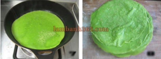 cach lam banh crepe cau vong lung linh 8