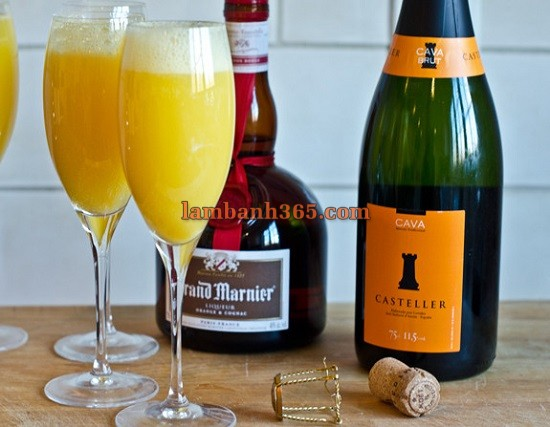 cach lam cocktail grand mimosa thom ngat 1